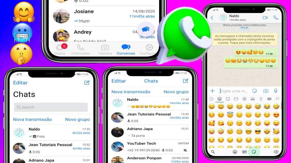 Fouad iOS WhatsApp V8.45 Anti-Ban Único 100% Igual do ...